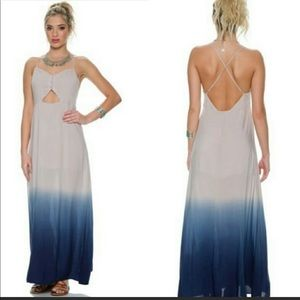 Ombré Waterfall Maxi